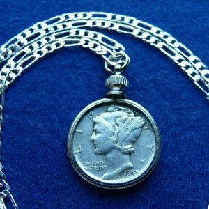 Estate American .900 Silver Classic Mercury Dime